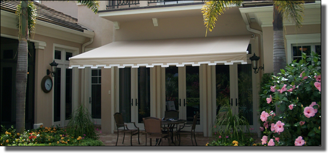 fort lauderdale residential awnings home awning manufacturer