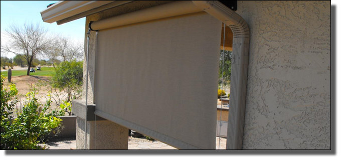 Roll Down Awnings Shades Fort Lauderdale Florida